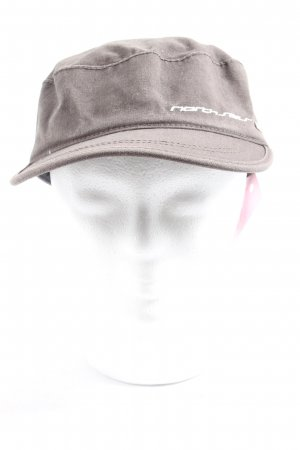 North sails Gorra redonda con visera gris claro look casual