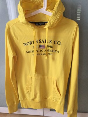 North sails Hooded Sweater yellow-black