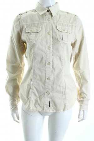 North sails Long Sleeve Blouse beige simple style