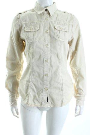 North sails Langarm-Bluse beige schlichter Stil