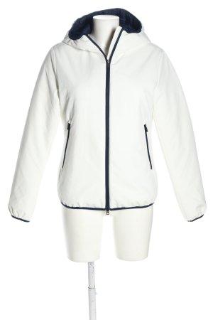 North sails Pikowana kurtka biały-niebieski W stylu casual