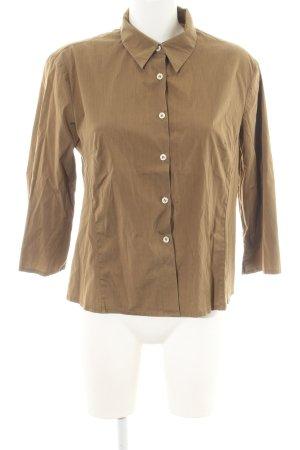 Hemd-Bluse braun Casual-Look