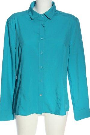Northland Camisa de manga larga turquesa look casual