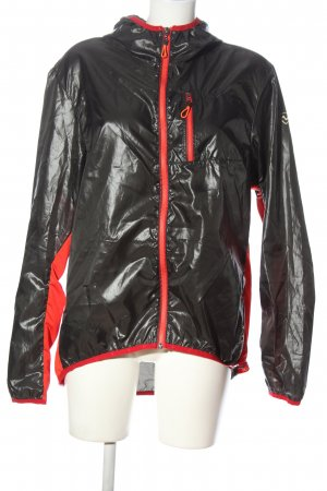 Northland Giacca sport nero-rosso stile casual