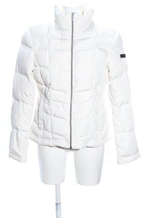 Northland Veste matelassée blanc motif de courtepointe style décontracté