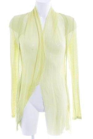 Northland Chaqueta de lana amarillo limón estilo extravagante