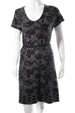 Northland Vestido de lana negro-gris oscuro look casual