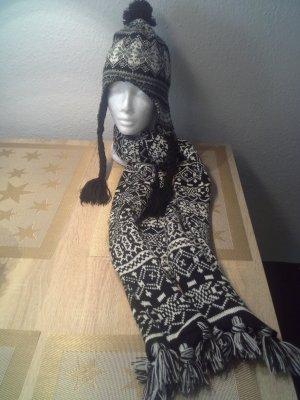 Lapland Hat white-black