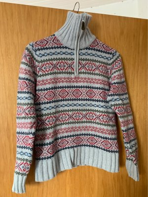 H&M Norwegian Sweater multicolored