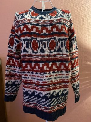 Mango Norwegian Sweater multicolored
