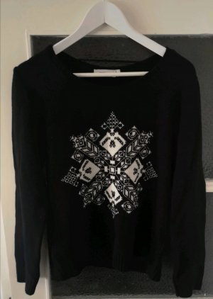 Yessica Norwegian Sweater black
