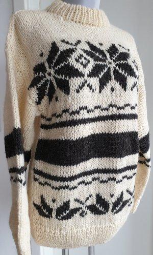 Norwegian Sweater bronze-colored-cream