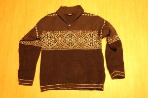 McKinley Pull norvégien noir tissu mixte