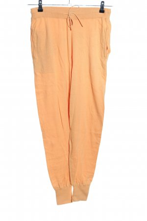 Not Shy Pantalon large orange clair style décontracté