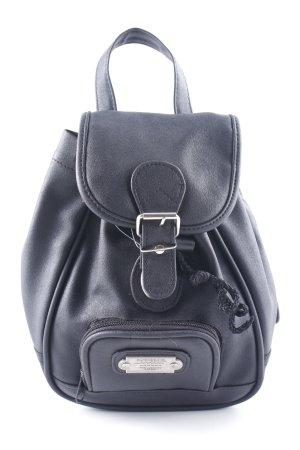Notebookrucksack schwarz Elegant