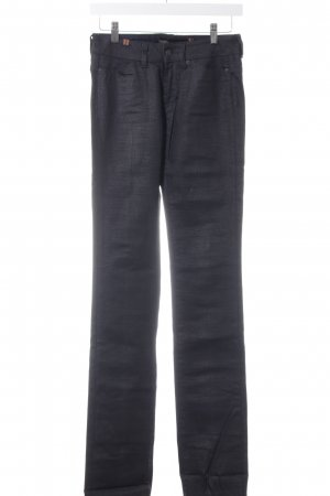Notify Pantalone a vita bassa nero stile casual