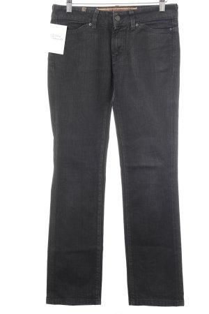 Notify Jeans vita bassa nero stile casual