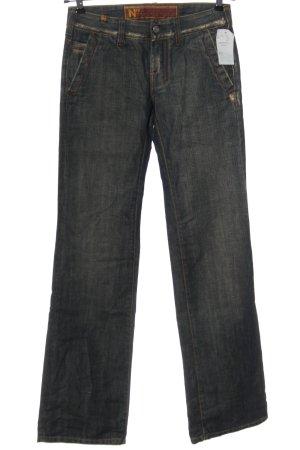 Notify Jeans a zampa d'elefante blu stile casual