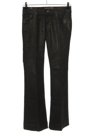 Notify Pantalone a zampa d'elefante nero stile casual