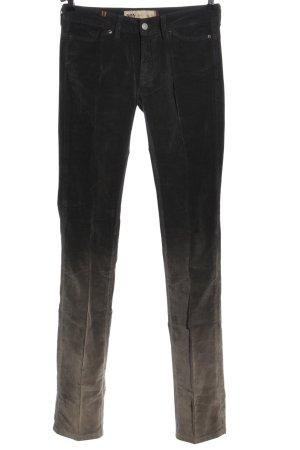 Notify Pantalone jersey nero-marrone Colore sfumato stile casual