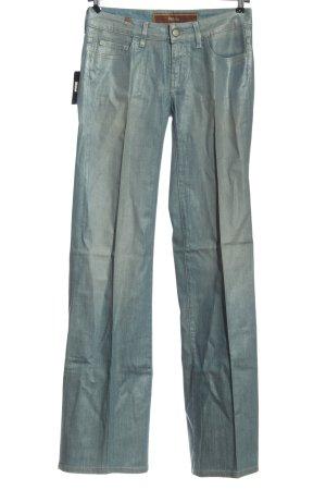 Notify Jeans a gamba dritta blu stile casual