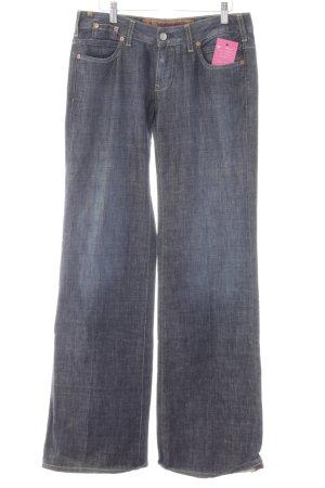 Notify Jeans a gamba dritta blu scuro puntinato stile casual