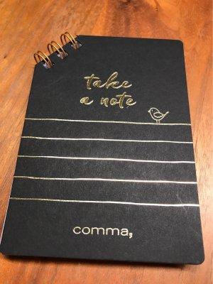 Notizblock  für Tasche von Comma