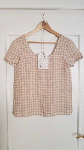 Notperfectlinen T-Shirt Karo