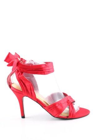 now High Heel Sandaletten rot Elegant