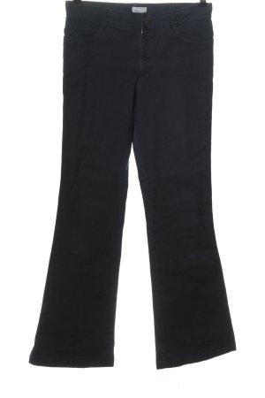 now Pantalone a vita bassa nero stile casual