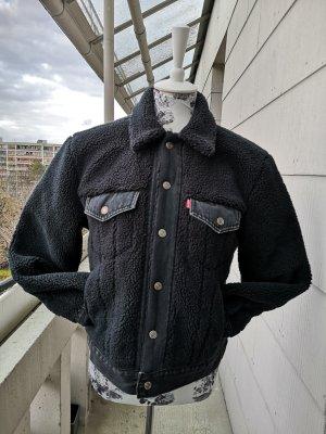 Levi's Veste en jean noir