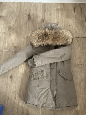 Amazon fashion Parka Wielokolorowy