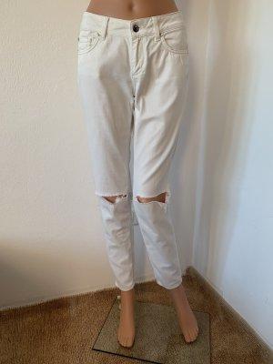 NP 159€ Liu Jo Jeans aus Baumwolle in Weiß Hose 26 34 36 S