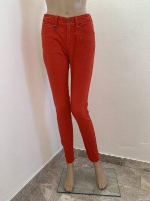 Burberry Brit Pantalone a sigaretta rosso-rosso chiaro Cotone