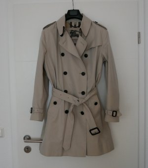 Burberry Trench Coat oatmeal-natural white cotton