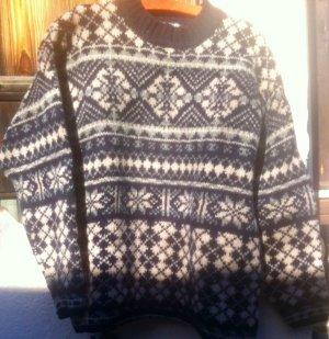 Fog Cutter Pull norvégien multicolore laine