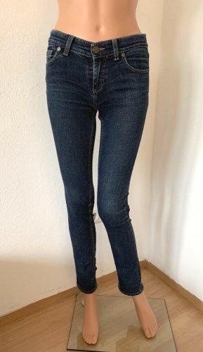 NP 235€ Versace figurbetonte elastische Skinny Jeans Röhrenjeans Hose 34 XS Baumwolle
