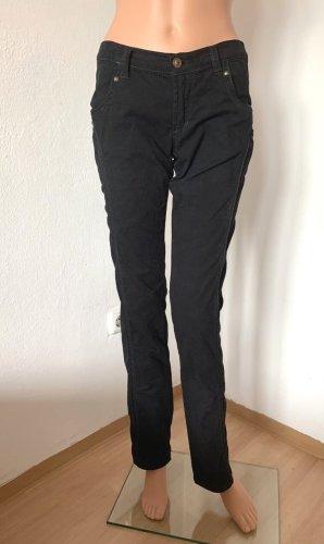 NP 296€ Roberto Cavalli elastische Jeans Reithose Reiterhose Business elegante klassische Hose 36 S Baumwolle