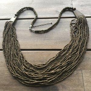 NP 34,99 € Mega FARBE SALE Schnäppchen Statement Kette Statementkette Halskette hochwertig Sheego