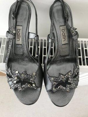 """*NP 380,- €* Traumhaft schöne High-Heel-Sandalen vom italienischen Luxus-Label """"ballin"""" mit Originalkarton"""
