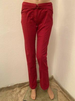 Roberto Cavalli Drainpipe Trousers red-neon red