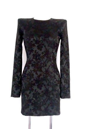 NP 489€ Neu mit Etikett Philipp Plein Sud Jeanius Designer Kleid XS 34 schwarz Mini