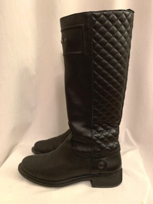 Richmond Riding Boots black leather