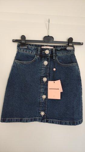 Custommade Gonna di jeans multicolore Cotone