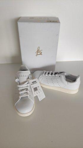 Adidas Sneaker stringata bianco Pelle