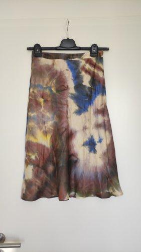 Set Midi Skirt multicolored silk