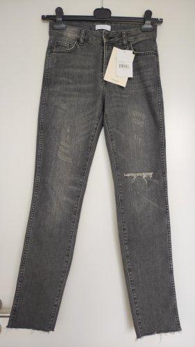 Anine Bing Skinny jeans veelkleurig Katoen