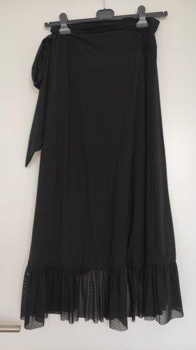 Ganni Wraparound Skirt black