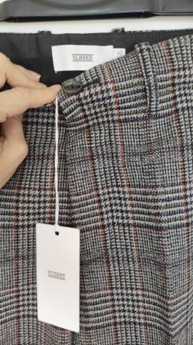Closed Woolen Trousers multicolored