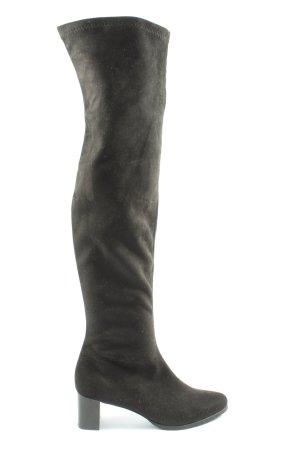 NR/Rapisardi Kniehoge laarzen zwart elegant